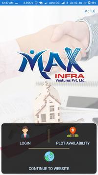 Max Infra Ventures poster