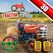New Tractor Drive Simulator 3d- Farming Game 2019 icon
