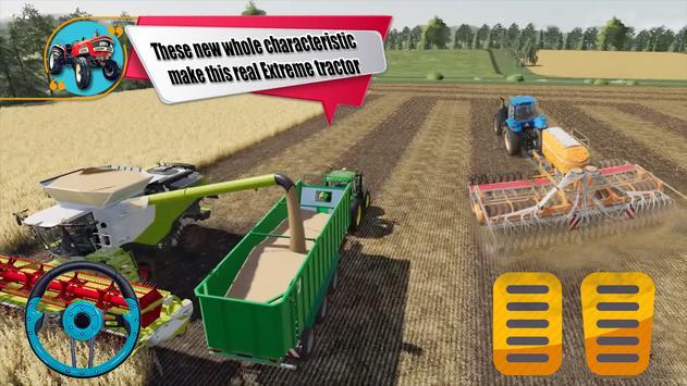 New Tractor Drive Simulator 3d- Farming Game 2019 screenshot 1