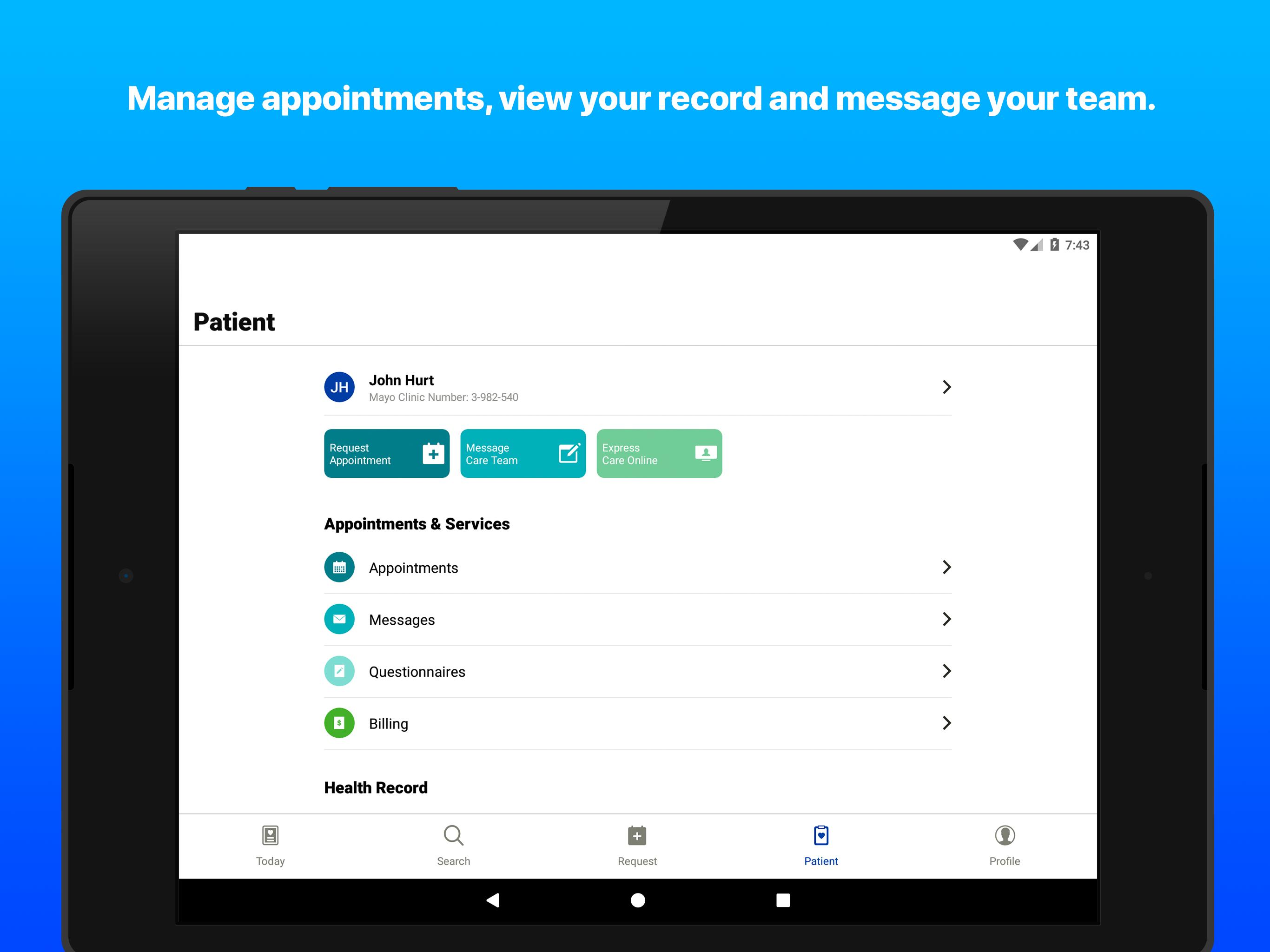 Mayo Clinic for Android - APK Download