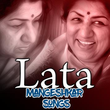 lata mangeshkar hit songs poster