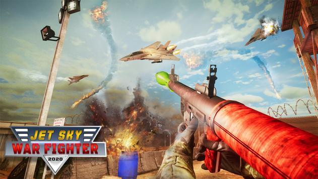 RPG Jet Sky War Fighter - Airplane Shooting Combat poster