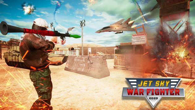 RPG Jet Sky War Fighter - Airplane Shooting Combat screenshot 11