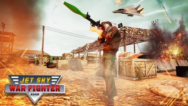 RPG Jet Sky War Fighter - Airplane Shooting Combat screenshot 12