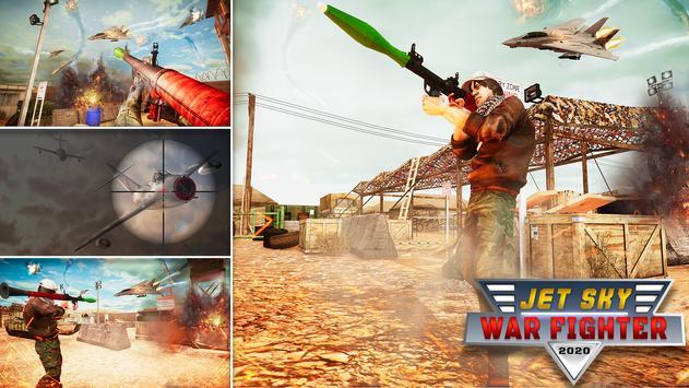 RPG Jet Sky War Fighter - Airplane Shooting Combat screenshot 9