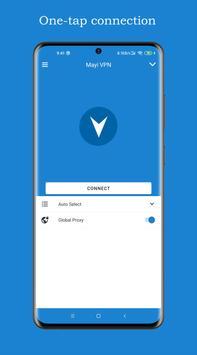 Mayi VPN - Free, Fast & Secure VPN proxy ポスター