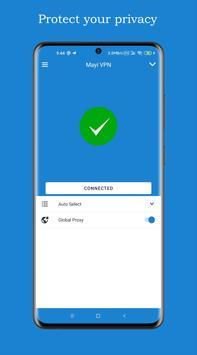 Mayi VPN - Free, Fast & Secure VPN proxy スクリーンショット 2