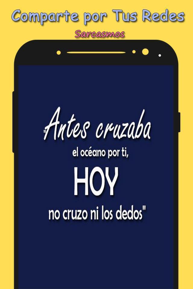 Frases Sarcasticas для андроид скачать Apk