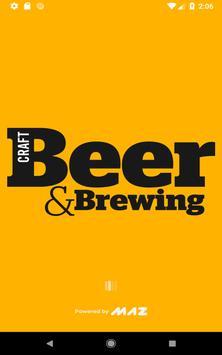 Craft Beer & Brewing Magazine Affiche