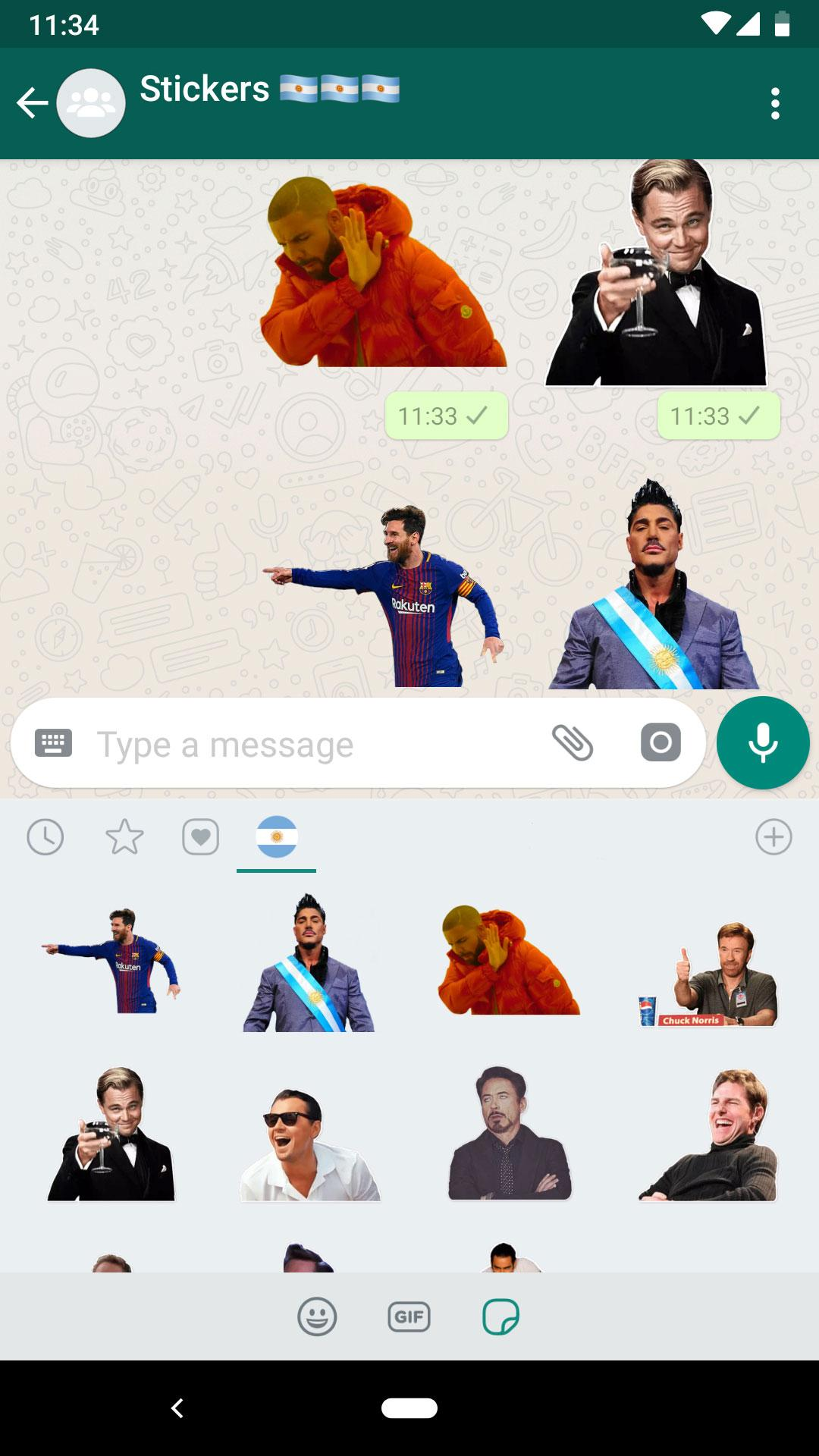 Stickers Argentina For Android Apk Download