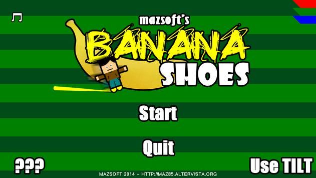Banana Shoes poster