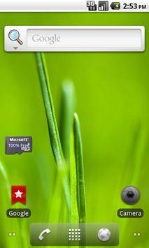 SD Space Widget screenshot 1