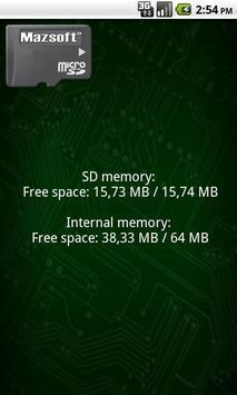 SD Space Widget screenshot 3