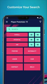 Player Potentials 19 poster