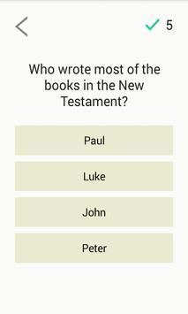 Bible Quiz Game poster