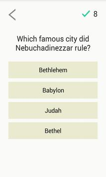 Bible Quiz Game screenshot 1