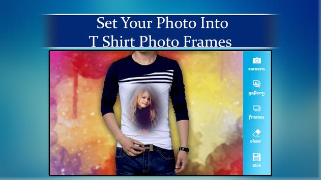 T-Shirt Photo Frames 2018 screenshot 1