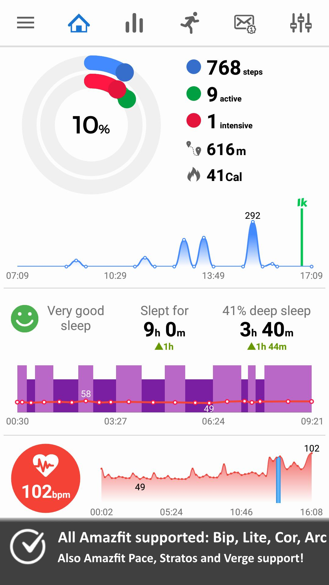Notify & Fitness for Amazfit for Android - APK Download
