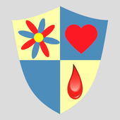Menstrual Cycle Calendar to track menstruations icon