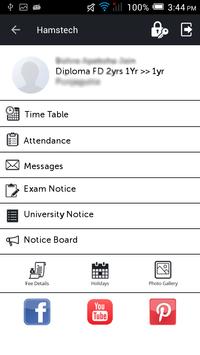 com.hamstech Student Portal screenshot 2