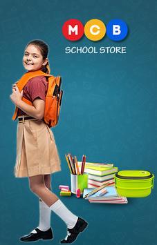 MCB School Store poster