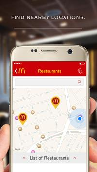 McDonald's App - Caribe screenshot 3