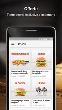 1 Schermata McDonald's