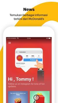 Aplikasi McDonald's screenshot 1