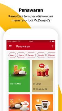 Aplikasi McDonald's screenshot 2