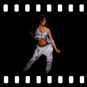 Hip Hop Dancer Girl Video Wallpaper icon