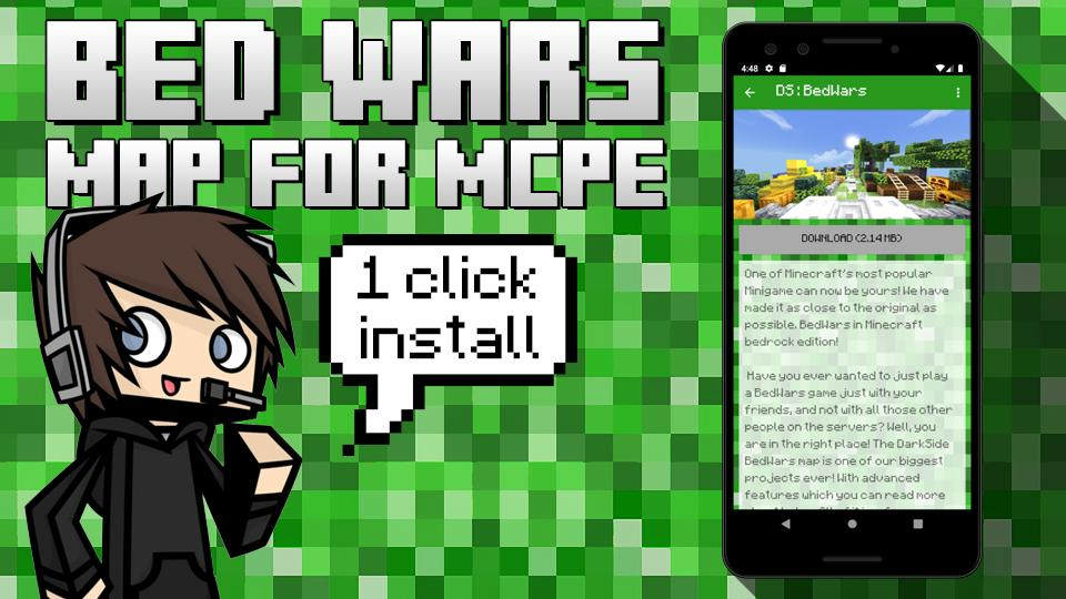 Bedwars Maps For Mc Pocket Edition For Android Apk Download