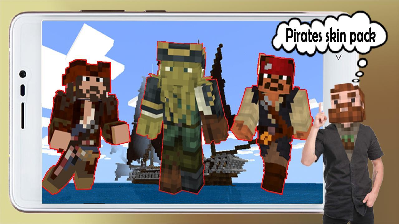 Caribbean Skin Pack Pirates MCPE para Android - APK Baixar