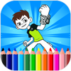 Coloring Pages For Ben Ten - Aliens أيقونة