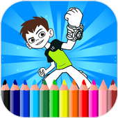 Coloring Pages For Ben Ten - Aliens icon