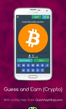 Guess Crypto Symbols & Earn Money! poster