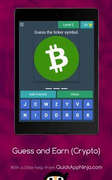 Guess Crypto Symbols & Earn Money! screenshot 13