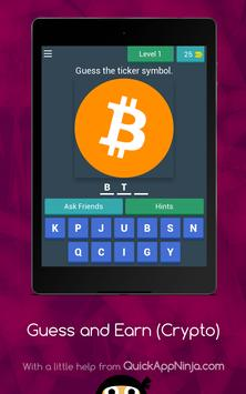 Guess Crypto Symbols & Earn Money! screenshot 11