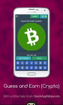 Guess Crypto Symbols & Earn Money! screenshot 2