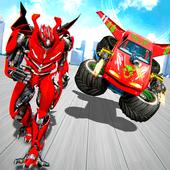 Flying Monster Truck Robot Transform - Robot Wars icon