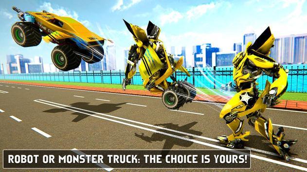 Flying Monster Truck Robot Transform - Robot Wars screenshot 10