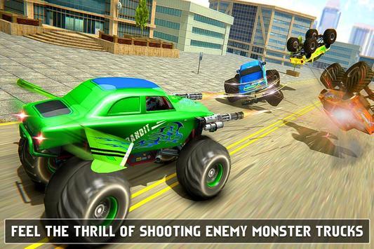 Flying Monster Truck Robot Transform - Robot Wars screenshot 1