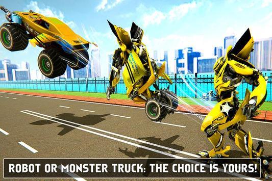 Flying Monster Truck Robot Transform - Robot Wars screenshot 2