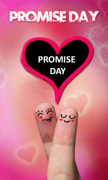 Promise Day Insta DP Photo Frame poster