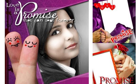 Promise Day Insta DP Photo Frame screenshot 1