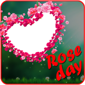 Rose Day Insta DP Photo Frame Maker icon