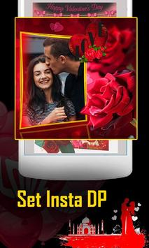 Rose Day Insta DP Photo Frame Maker poster