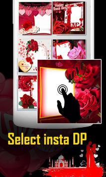Rose Day Insta DP Photo Frame Maker screenshot 1
