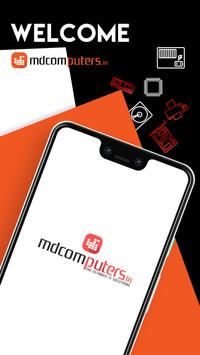 MDComputers.in Online Shopping poster