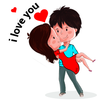 WAStickerApps: Romantic Love Stickers for whatsapp icon
