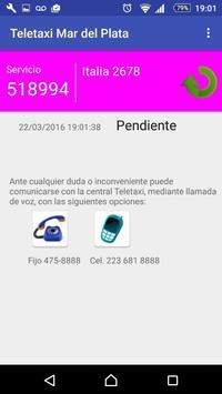 Teletaxi Mar del Plata screenshot 2